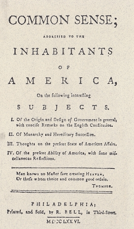 the effect of thomas paines common sense The effects of thomas paine's common sense how important was it for america to gain its independence from england thomas paine, an english radicalist, thought that it was extremely important important enough to write a pamphlet on why american colonist should have independence.