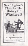 New England's Place in the History of Witchcraft