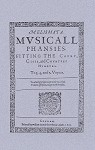 Ravenscroft's Melismata, Musicall Phansies 1611.