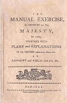 His Majesty's Manual of Exercise.