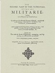 Principles of the Art Militarie (Quartermaster).